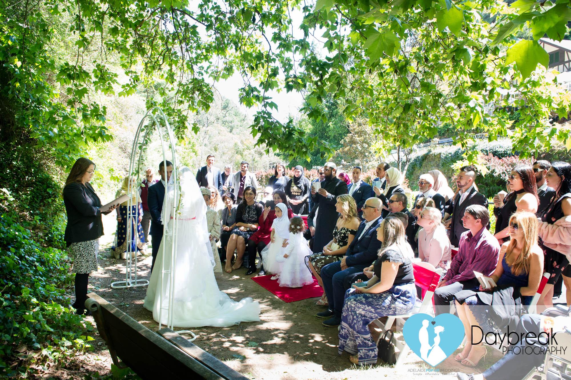 Weddings Utopia Waterfall Gully